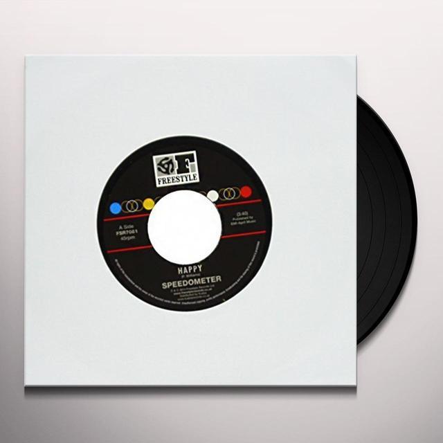 Speedometer HAPPY Vinyl Record - UK Import