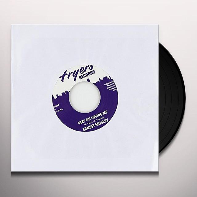 Ernest Mosley STUBBORN HEART Vinyl Record - UK Import