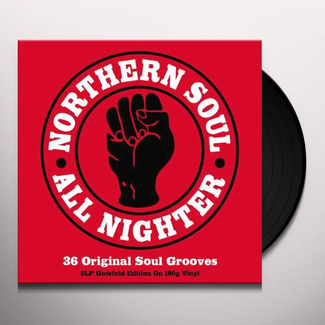 Northern Soul All Nighters / Various (Uk) NORTHERN SOUL ALL NIGHTERS / VARIOUS Vinyl Record - UK Import
