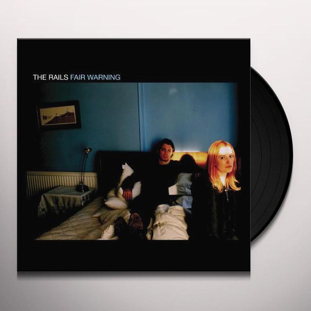 Rails FAIR WARNING Vinyl Record - UK Import