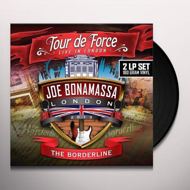 Joe Bonamassa TOUR DE FORCE-BORDERLINE Vinyl Record - UK Import