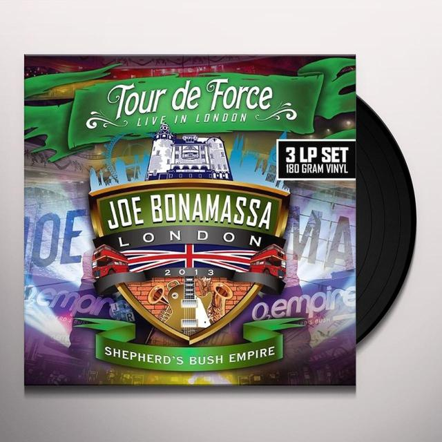 Joe Bonamassa TOUR DE FORCE-SHEPHERD? BUSH EMPIRE Vinyl Record - UK Import