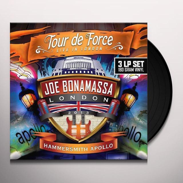 Joe Bonamassa TOUR DE FORCE-HAMMERSMITH APOLLO Vinyl Record - UK Import