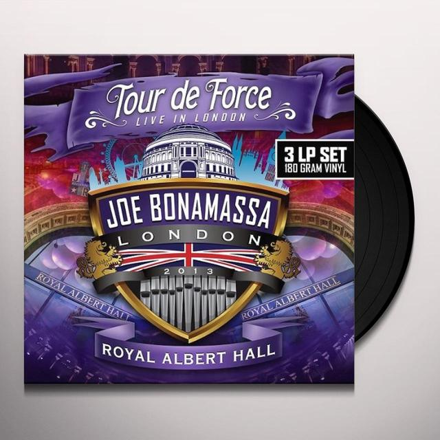 Joe Bonamassa TOUR DE FORCE-ROYAL ALBERT HALL Vinyl Record - UK Import