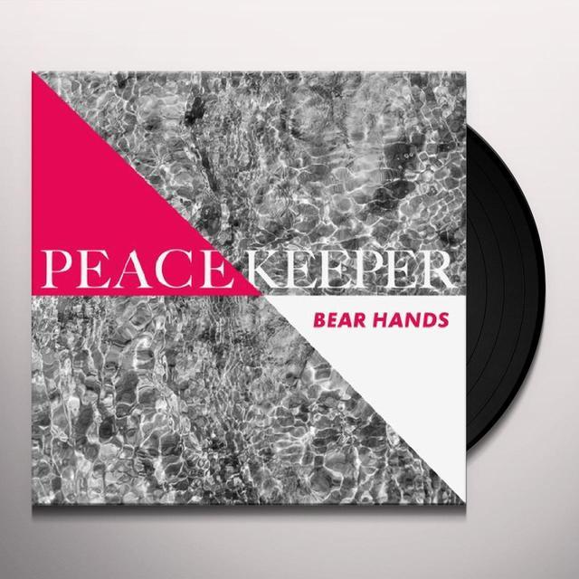 Bear Hands PEACEKEEPER Vinyl Record - UK Import