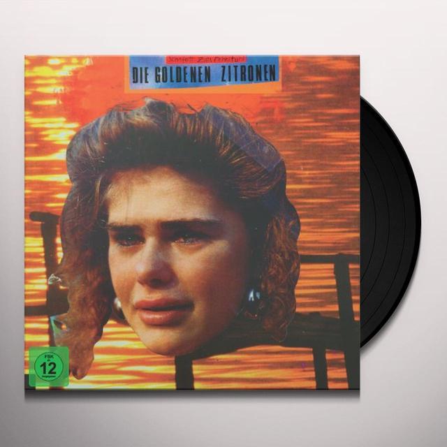 Goldenen Zitronen SCHAFOTT ZUM FAHRSTUHL Vinyl Record