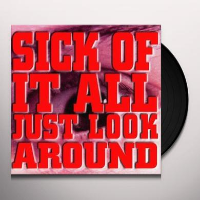 Sick Of It All JUST LOOK AROUND (GER) Vinyl Record