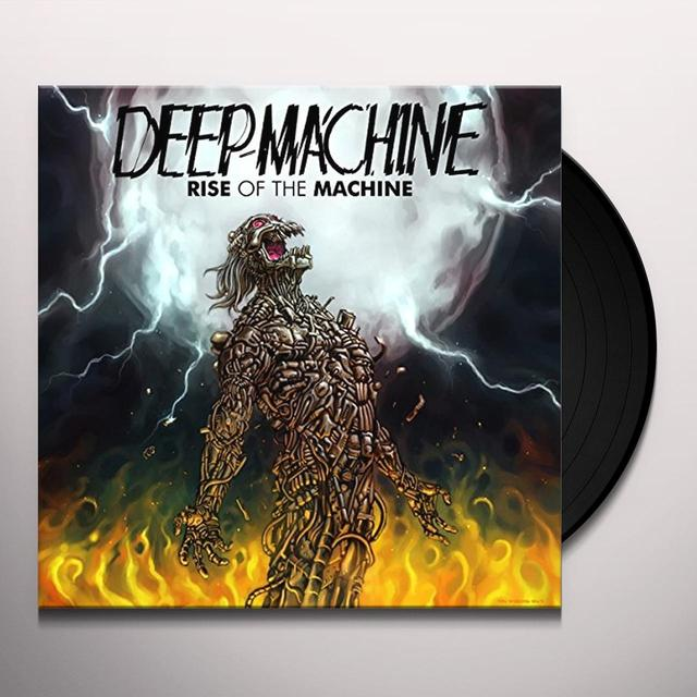 Deep Machine RISE OF THE MACHINE Vinyl Record