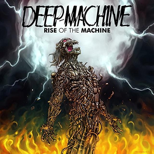 Deep Machine RISE OF THE MACHINE (GER) Vinyl Record