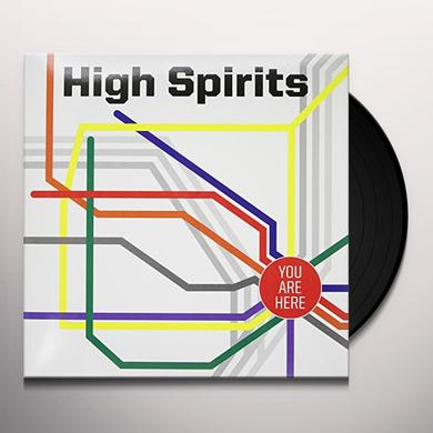 High Spirits YOU ARE HERE (GER) Vinyl Record