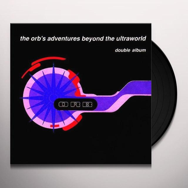 Orb ADVENTURES BEYOND THE ULTRAWORLDRIES Vinyl Record - Holland Import
