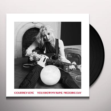 Courtney Love YOU KNOW MY NAME/WEDDING DAY (UK) (Vinyl)