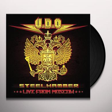U.D.O. STEELHAMMER LIVE FROM MOSCOW Vinyl Record