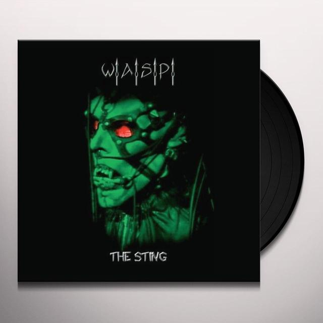 Wasp STING-LIVE IN LOS ANGELES Vinyl Record