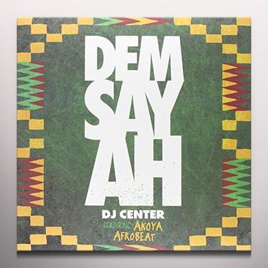 Dj Center DEM SAY AH Vinyl Record - 10 Inch Single, Gold Vinyl