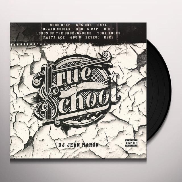 Dj Jean Maron TRUE SCHOOL Vinyl Record