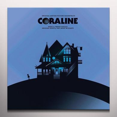 Bruno Coulais CORALINE / O.S.T. Vinyl Record - Blue Vinyl, Colored Vinyl, Gatefold Sleeve, 180 Gram Pressing