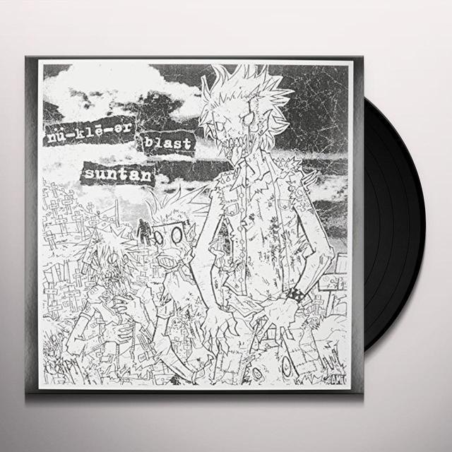 Nu-Kle-Er Blast Suntan 8 LATHE / DEMO TAPE RECORDINGS Vinyl Record