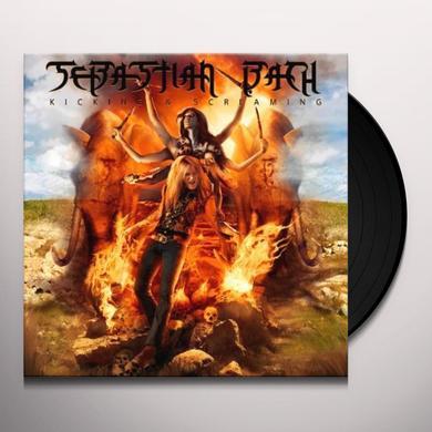 Sebastian Bach KICKING & SCREAMING Vinyl Record - Limited Edition