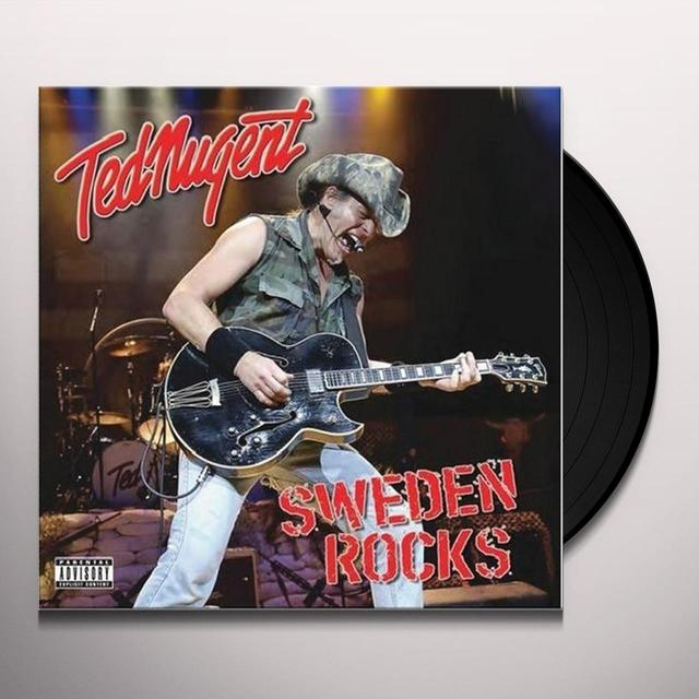 Ted Nugent SWEDEN ROCKS Vinyl Record - Limited Edition