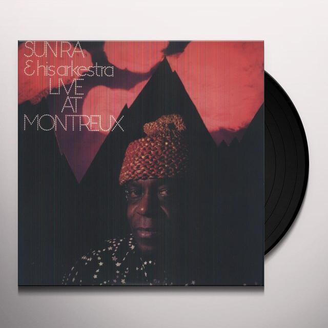 Sun Ra & His Arkestra LIVE AT MONTREAUX Vinyl Record