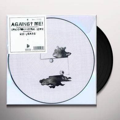 Against Me UNCONDITIONAL LOVE Vinyl Record - Picture Disc