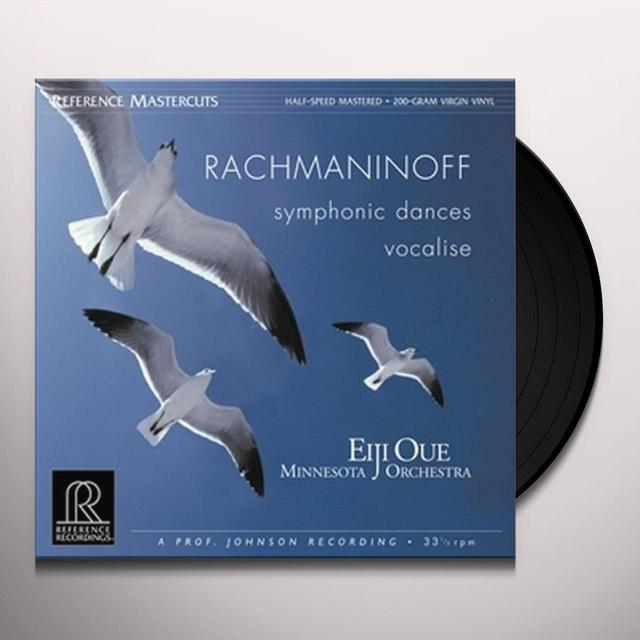 Rachmaninov SYMPHONIC DANCES / VOCALISE Vinyl Record