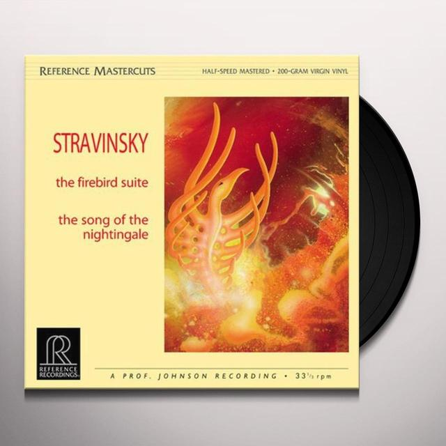 Stravinsky FIREBIRD SUITE/SONG OF THE NIGHTINGALE Vinyl Record