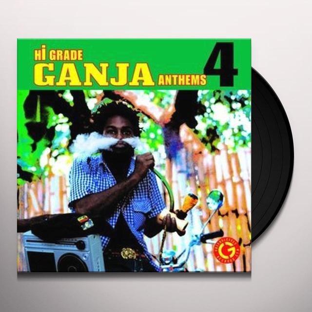 HI-GRADE GANJA ANTHEMS 4 / VARIOUS Vinyl Record