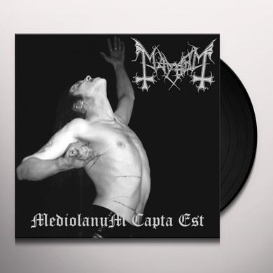 Mayhem MEDIOLANIUM CAPTA EST Vinyl Record