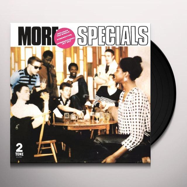 MORE SPECIALS  (WSV) Vinyl Record - 180 Gram Pressing