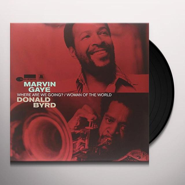 Marvin Gaye & Donald Byrd WHERE ARE WE GOING Vinyl Record