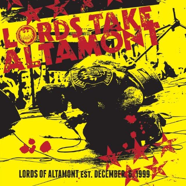 Lords Of Altamont LORDS TAKE ALTAMONT Vinyl Record