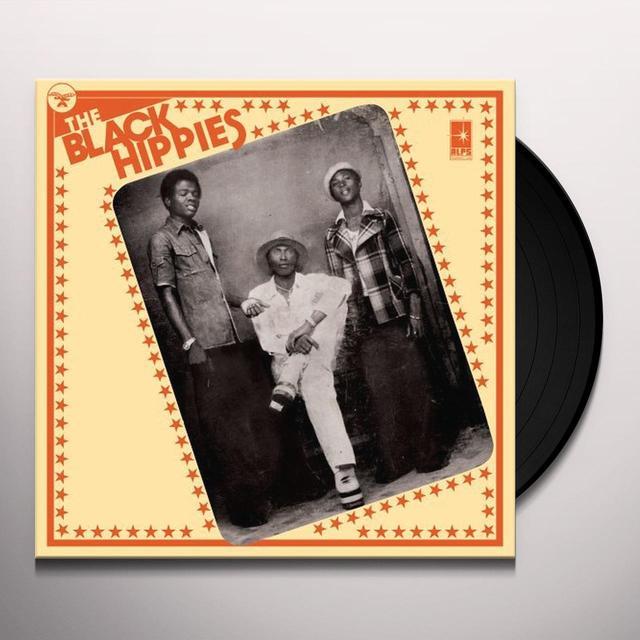 BLACK HIPPIES Vinyl Record - Poster