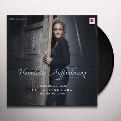 Strauss HEIMLICHE AUFFORDERUNG Vinyl Record
