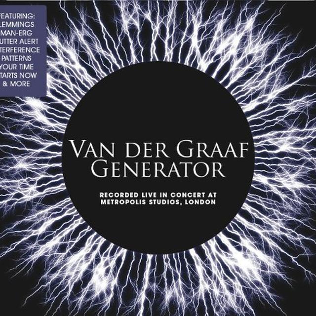 Van Der Graaf Generator LIVE AT METROPOLIS STUDIO Vinyl Record - Limited Edition, 180 Gram Pressing