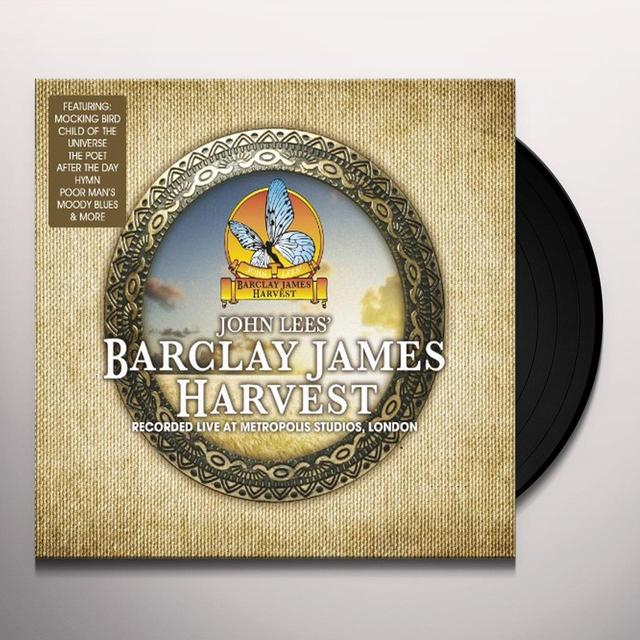 Barclay James Harvest LIVE AT METROPOLIS STUDIO Vinyl Record - Limited Edition, 180 Gram Pressing