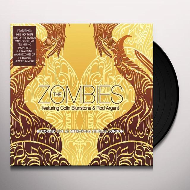 The Zombies LIVE AT METROPOLIS STUDIO Vinyl Record