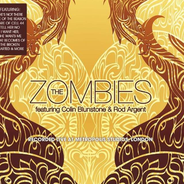 The Zombies LIVE AT METROPOLIS STUDIO Vinyl Record - Limited Edition, 180 Gram Pressing