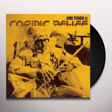 Jimi Tenor COSMIC RELIEF (EP) Vinyl Record