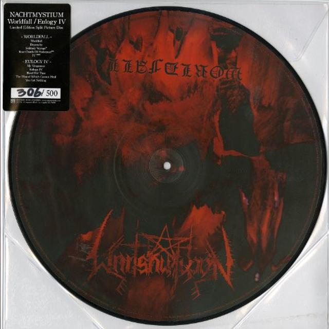 Nachtmystium WORLDFALL / EULOGY Vinyl Record