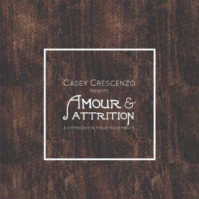 Casey Crescenzo AMOUR & ATTRITION Vinyl Record