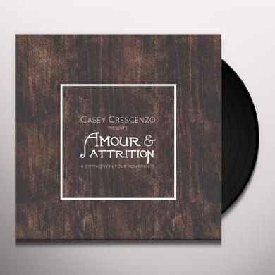 Casey Crescenzo AMOUR & ATTRITION Vinyl Record