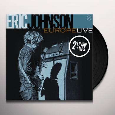 Eric Johnson EUROPE LIVE Vinyl Record