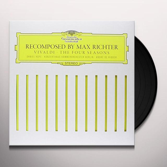 Richter / Deridder / Konzerthaus / Kammerorchester RECOMPOSED BY MAX RICHTER: VIVALDI THE FOUR SEASON Vinyl Record