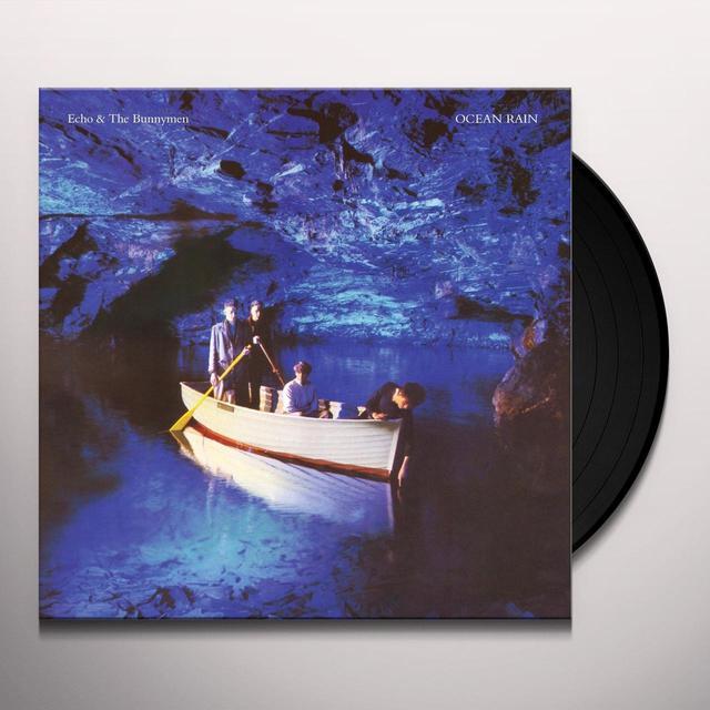 Echo & the Bunnymen OCEAN RAIN Vinyl Record - UK Import