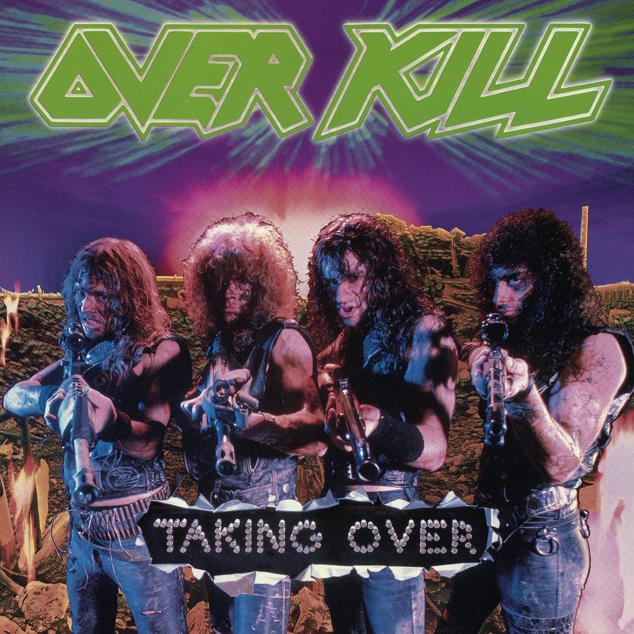 Overkill Taking Over Vinyl Record