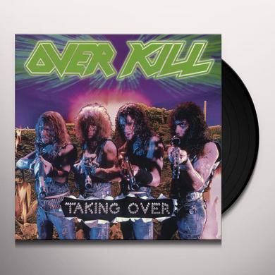 Overkill TAKING OVER Vinyl Record - Holland Import