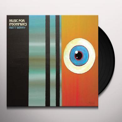 Matt Berry MUSIC FOR INSOMNIACS Vinyl Record - UK Import