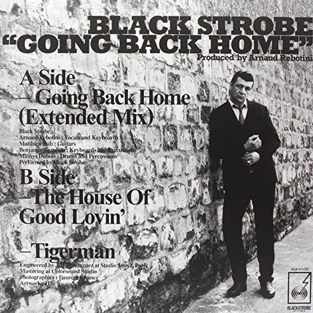 Black Strobe GOING BACK HOME Vinyl Record